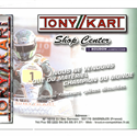 2000 Tony Kart Shop Center in the newspapers