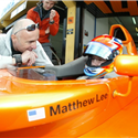 2006 Boudon managing and coaching Matt Lee for the BMW Formula World Final in Valencia