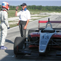 2007 Philippe Major testing with Boudon and the Jensen Motorsport racing team the Atlantic series